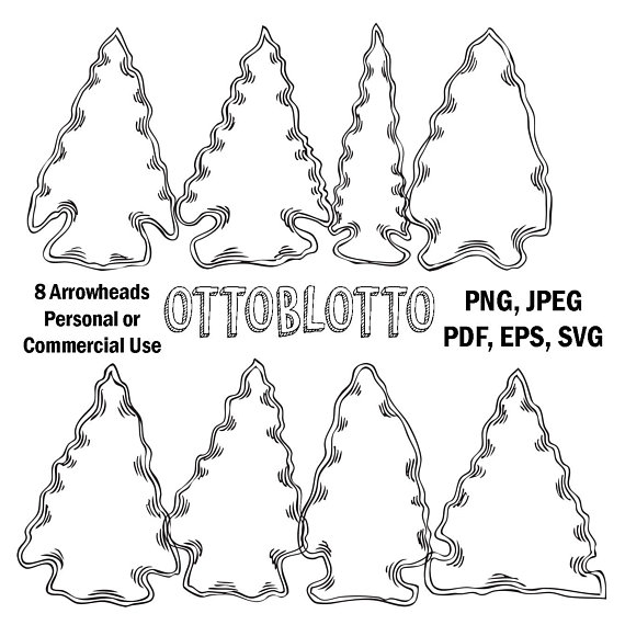 Arrowhead clipart svg. Camping with native american