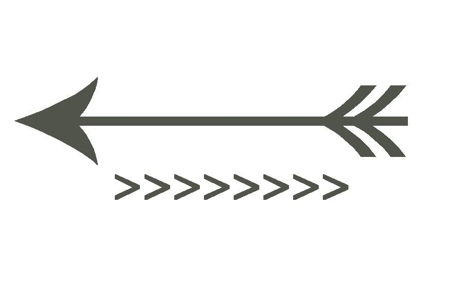 Arrow black and white. Arrows clipart cute