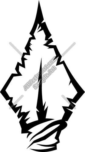 Arrowhead clipart vector.  clip art images