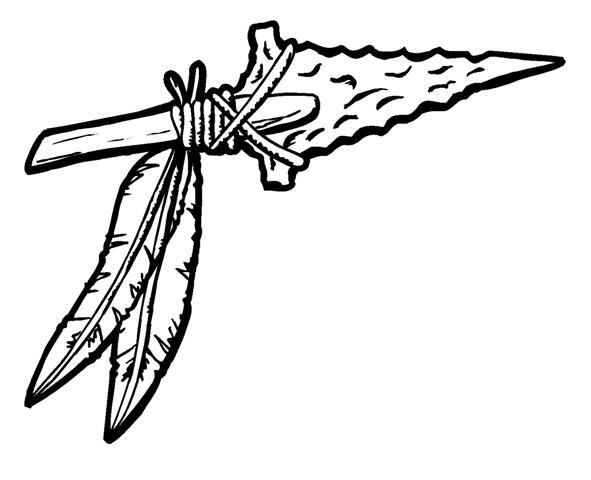 Arrowhead clipart warrior. Spear clipartuse image result