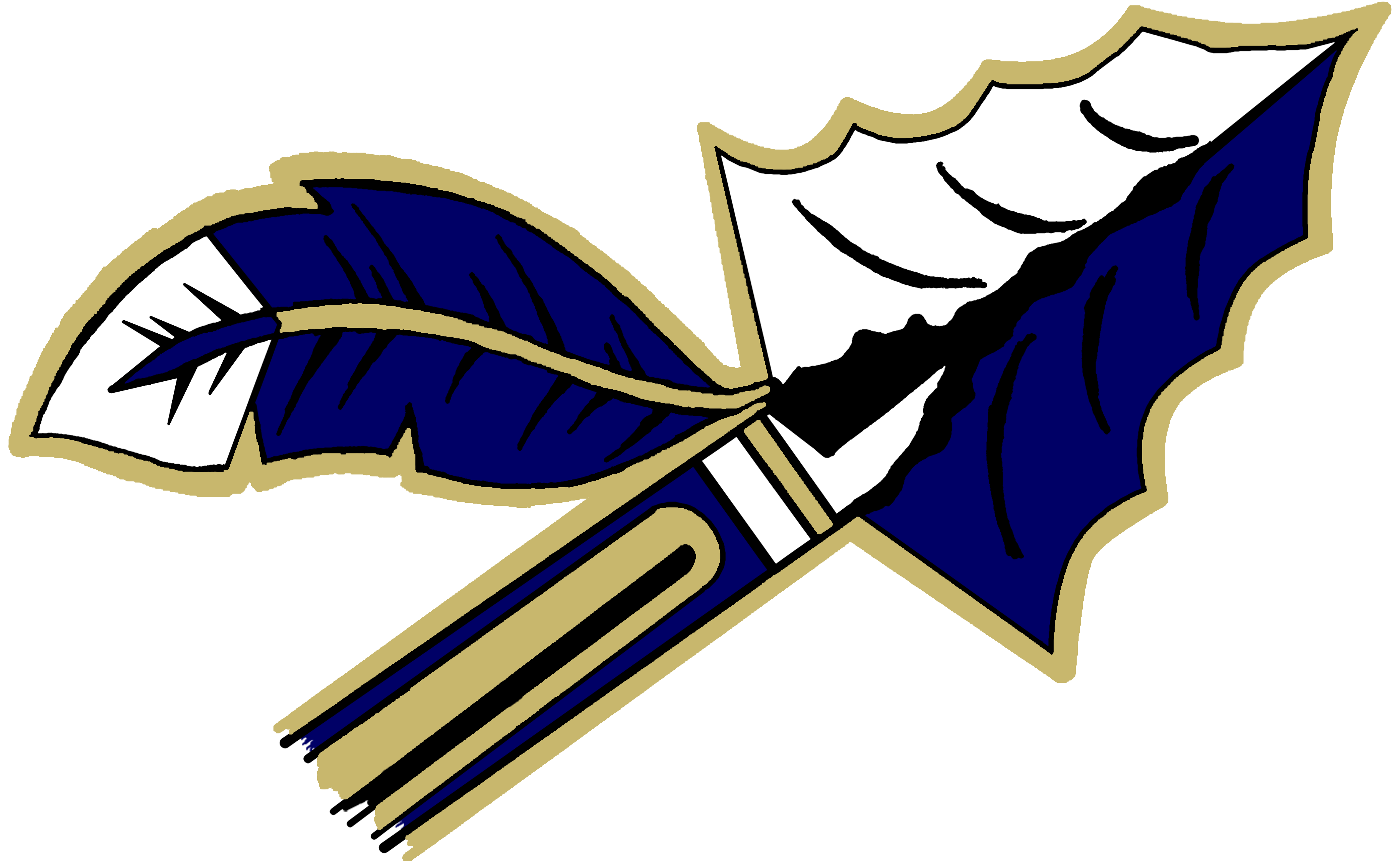Crete monee school district. Arrowhead clipart warrior