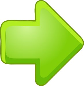 Green right arrow clip. Arrows clipart animated