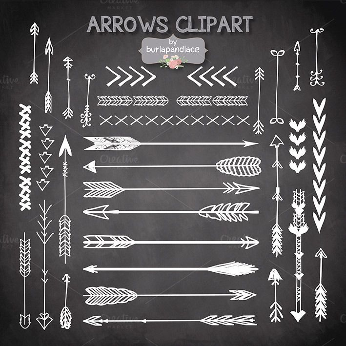 best n feathers. Arrows clipart artsy