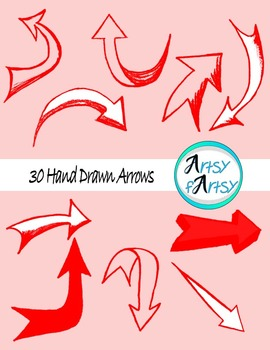 Arrows clipart artsy. Clip art teaching resources