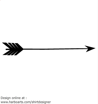 Arrow station . Arrows clipart black and white