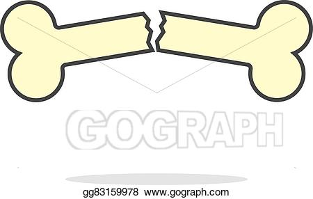 Vector art simple yellow. Arrows clipart bone