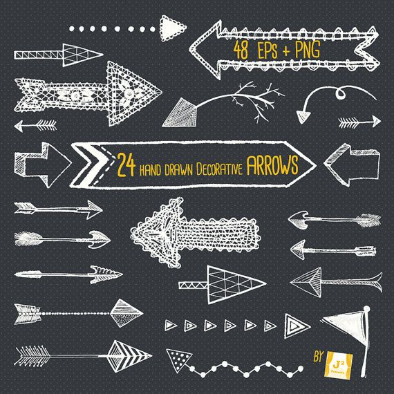Arrows clipart chalkboard. Pin by shu h