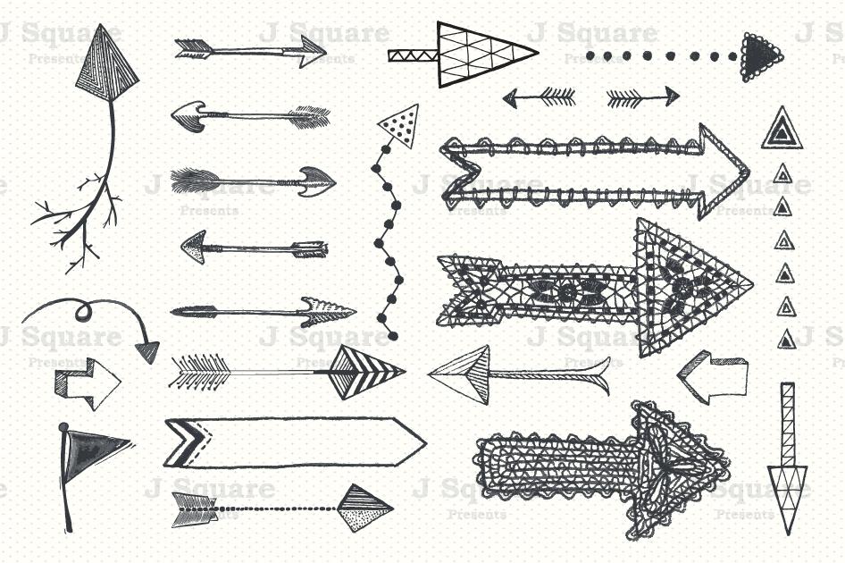 Arrows clipart chalkboard. Arrow clip art eps