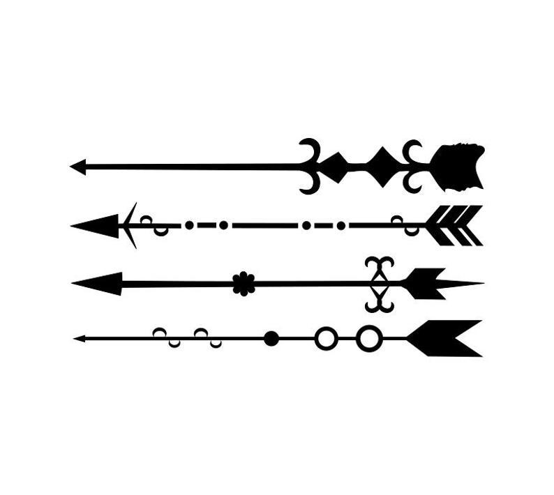 Arrows clipart fancy. Arrow svg cut file