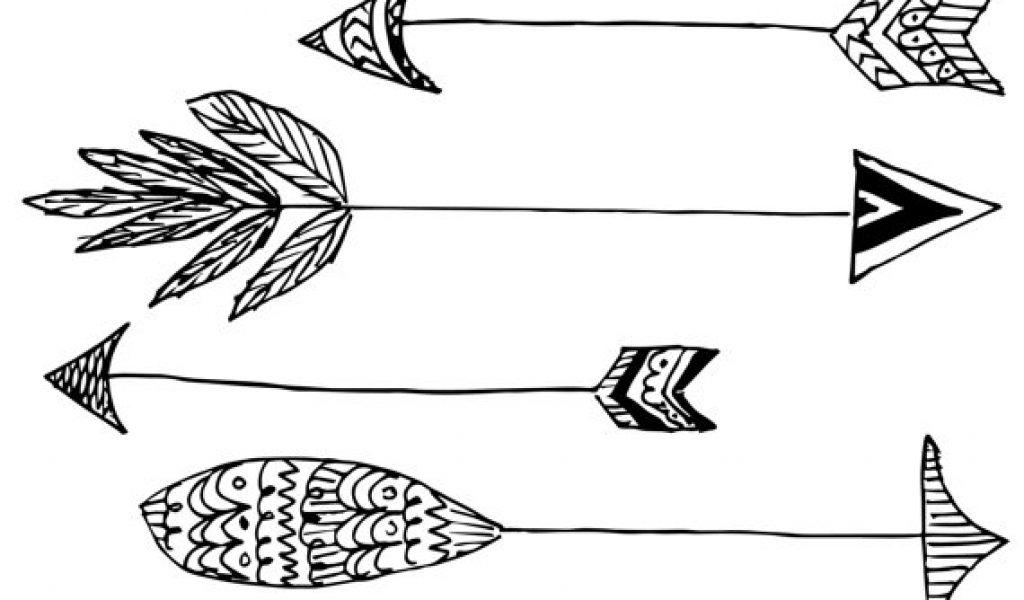 Handdrawn arrow clipartfest clipartix. Arrows clipart native american