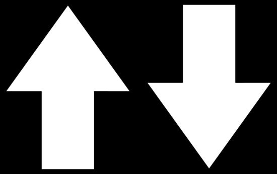 Free white arrow cliparts. Arrows clipart outline