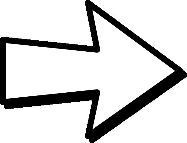 White arrow clip art. Arrows clipart right