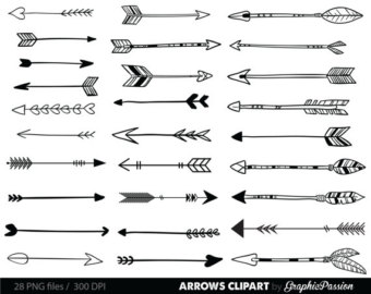 Arrows clipart rustic. Free arrow cliparts download