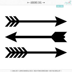 Arrows clipart silhouette. I think m in