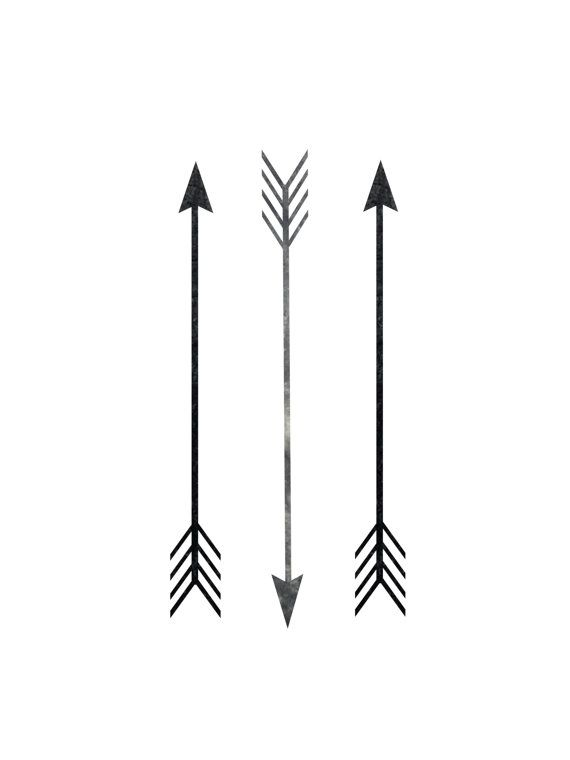 Arrows clipart simple. Wall prints arrow print