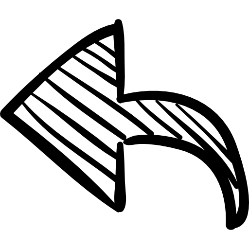 Arrows clipart sketch. Left arrow free icons