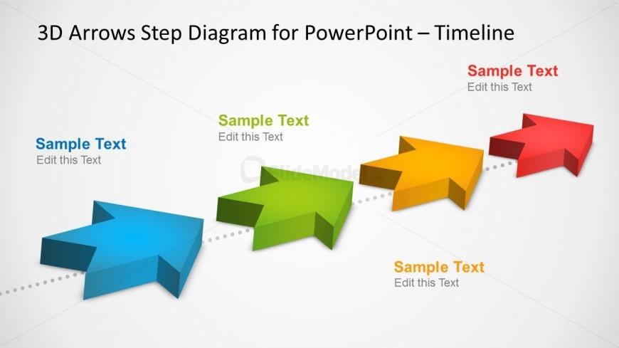 Arrows clipart timeline. Arrow templates free powerpoint