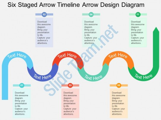 Km six staged arrow. Arrows clipart timeline