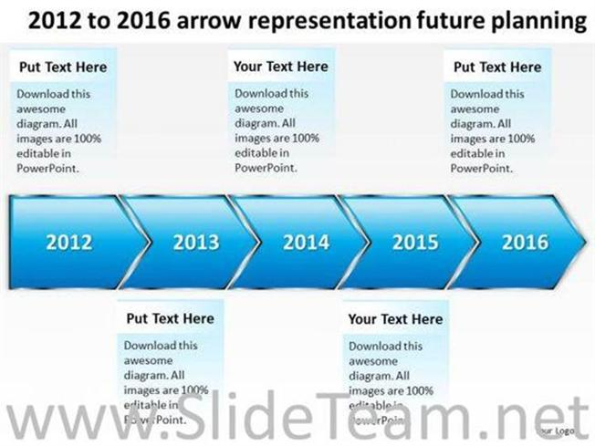 Arrows clipart timeline. Arrow representation future planning