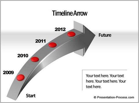 Smartart discover hidden capabilities. Arrows clipart timeline