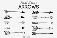 Arrows clipart vector. Clip art tribal digital