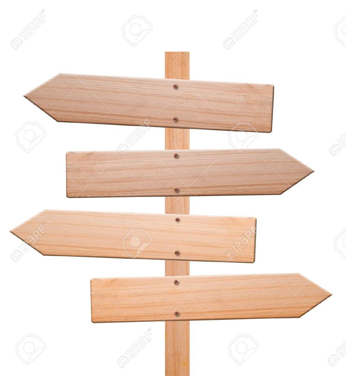 Arrow clipart wood. Sign