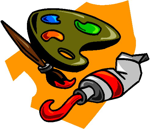 Clip Art Activities Painting