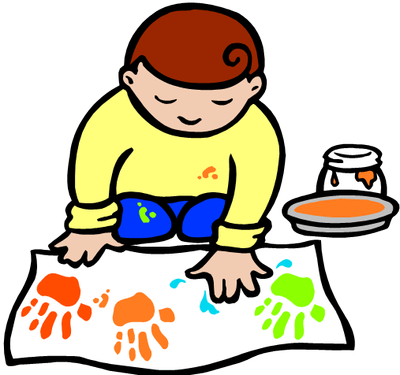 Free making crafts cliparts. Art clipart art activity