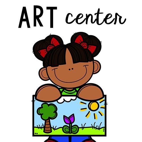 Art clipart art center. Preschool lovely commotion