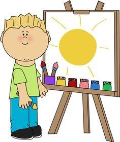 . Art clipart art center