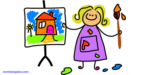 Art clipart art competition. World tourism day painting