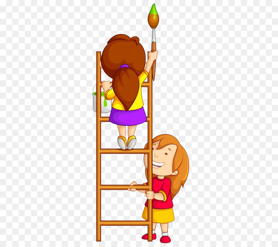 Painting poster clip ladder. Art clipart art competition
