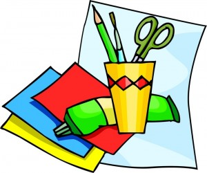 Arts and supplies . Crafts clipart