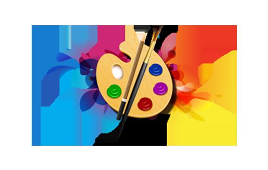 Art clipart art design. Gallery software by masterpiece