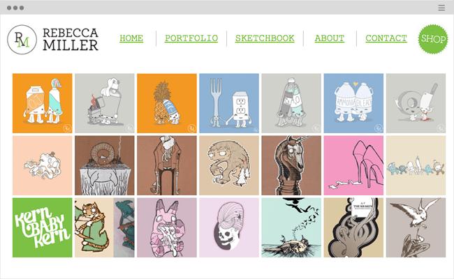 magnificent websites created. Art clipart art portfolio