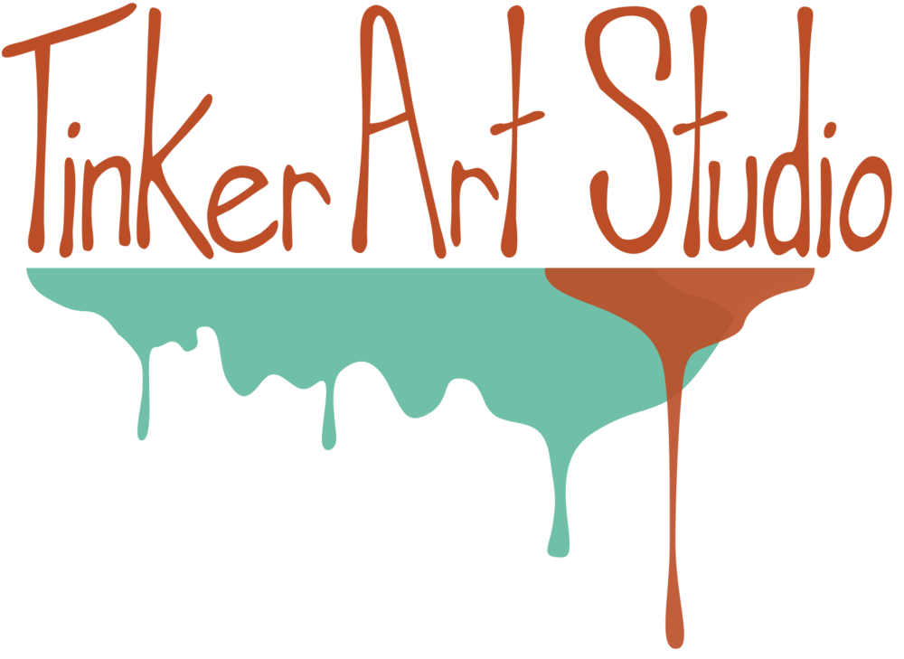 Tinker classes parties community. Art clipart art studio