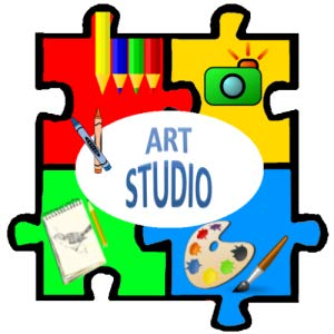 Art clipart art studio. Amazon com draw sketch