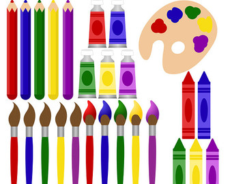 art clipart art supply
