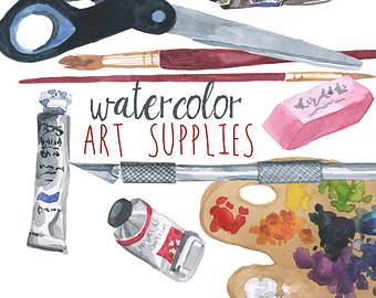 art clipart art supply