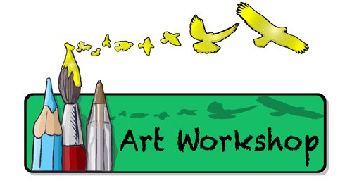 Swanage the society of. Art clipart art workshop