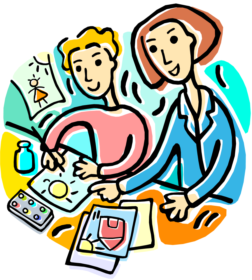 helping clipart teacher