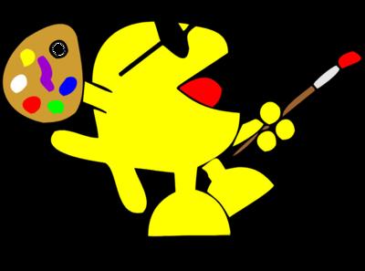 Art clipart artwork. Image download happy artist