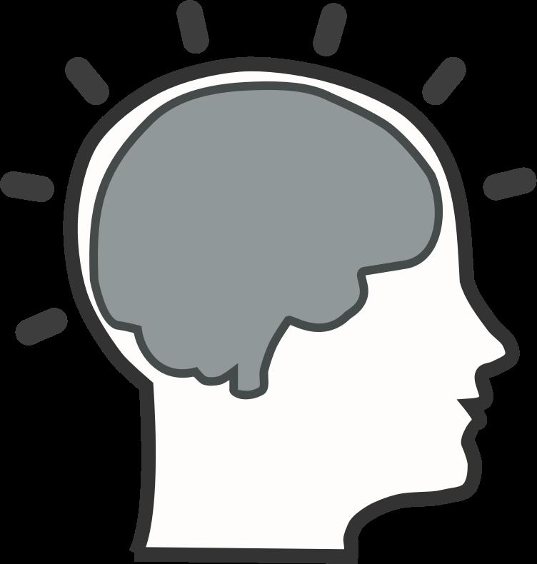 Brain free clip art. Psychology clipart brainstorming
