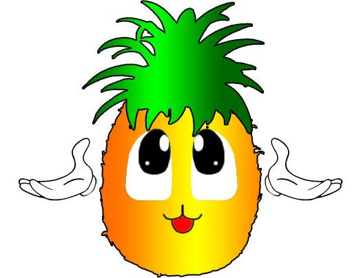 Pineapple free download best. Art clipart cartoon