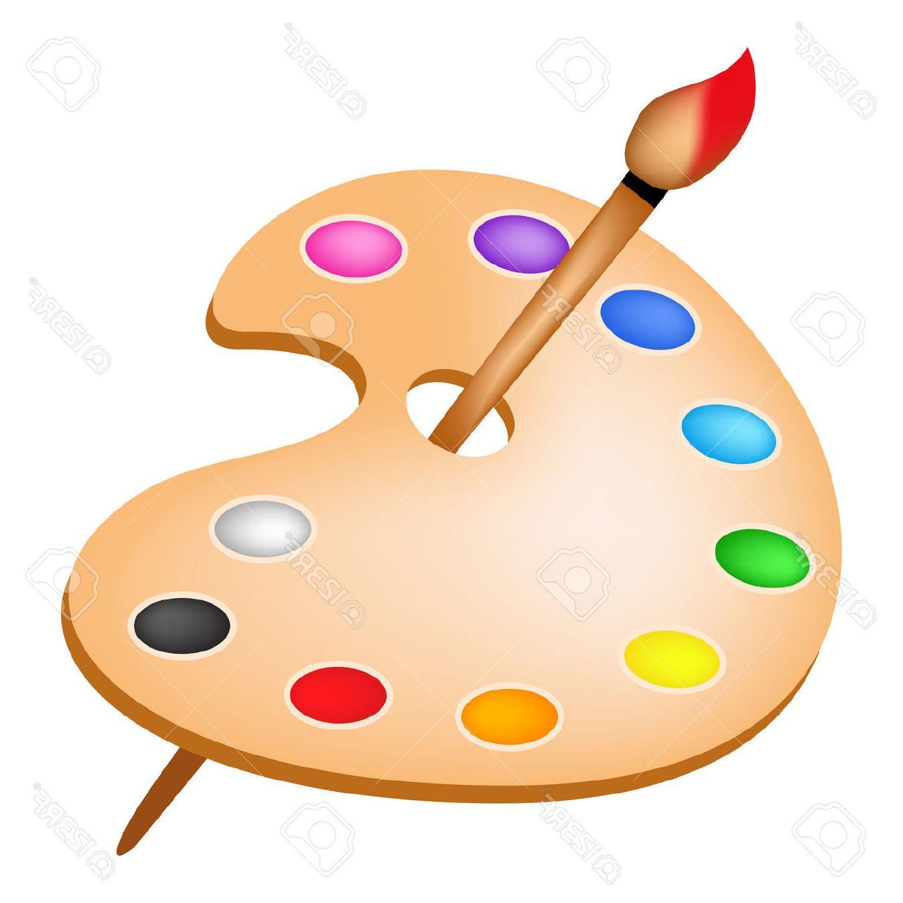 Art clipart color palette. Free download best