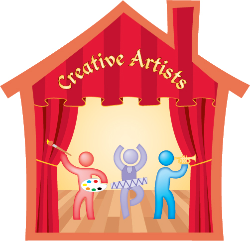 Art clipart creative art. Artists the college at