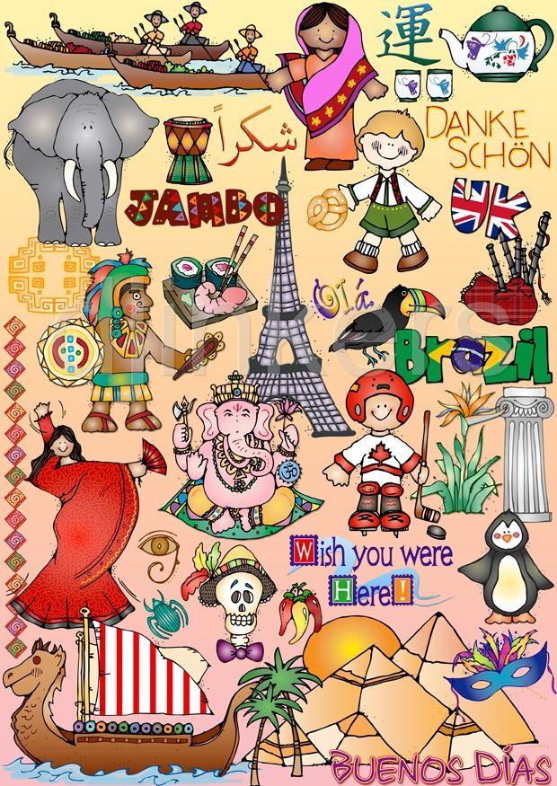 Art clipart cultural art. For world studies travel
