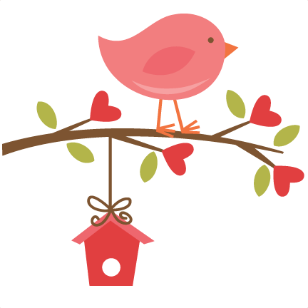 Bird clipart branch. Cute t m v