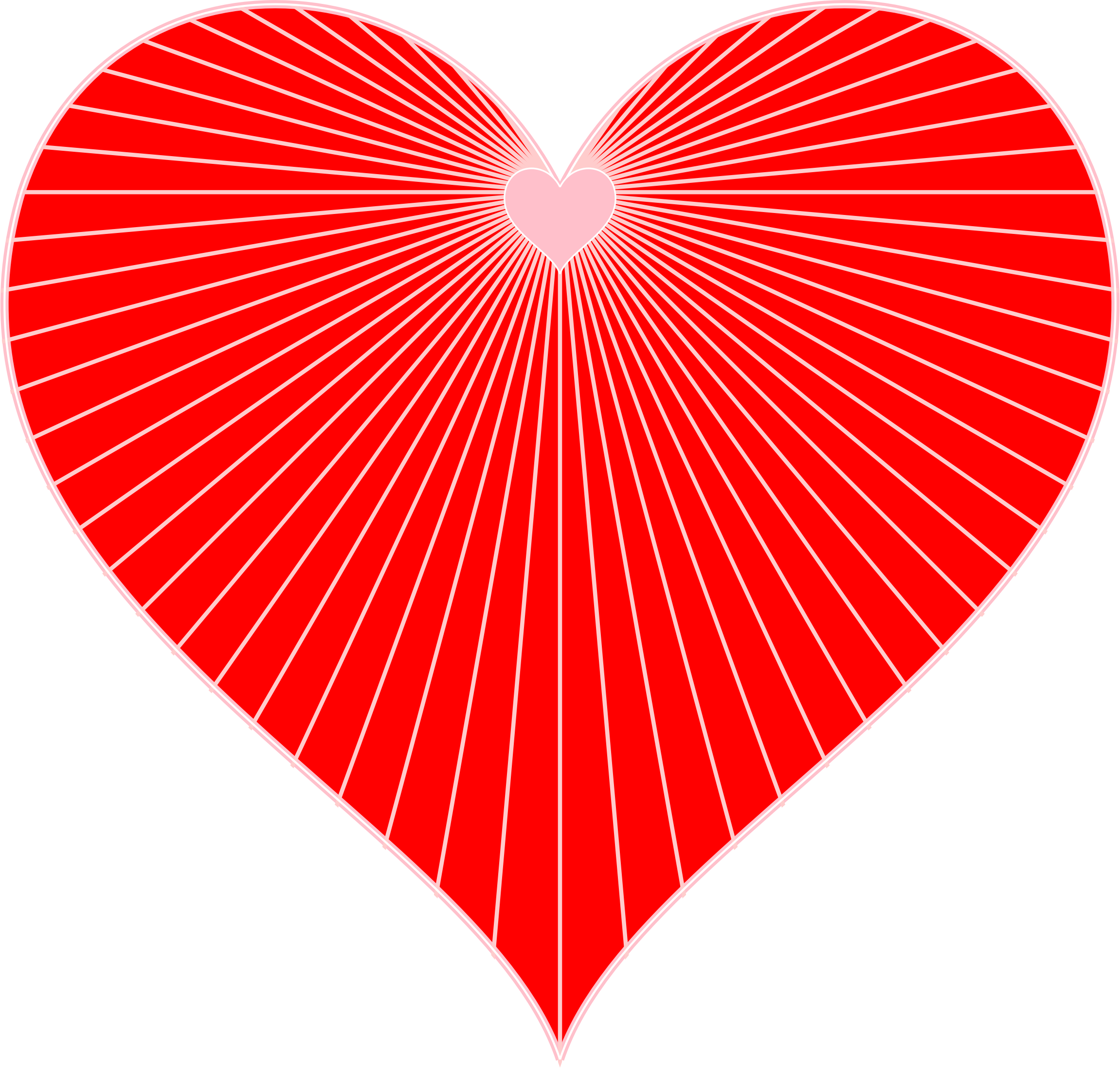 String art. Heartbeat clipart heart vector