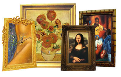 Gallery paintings reproductions handmade. Art clipart oil painting